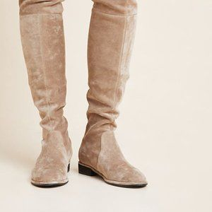 Silent D Leer Over The Knee Boots